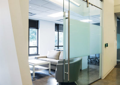 Glass Front Office